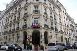 Restaurant Pierre Gagnaire in Paris