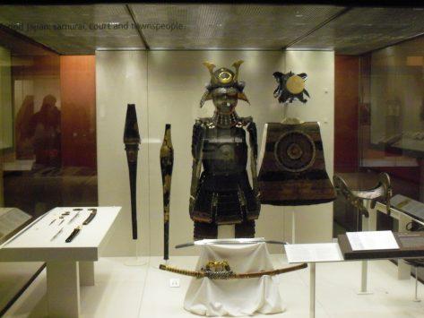 大英博物館の日本コーナー
