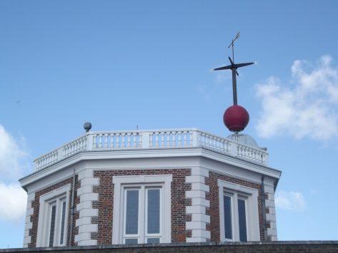 グリニッジ天文台の時の球