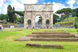 Arco di Constantino in Rome