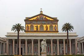 Basilica di San Paolo fuori le mura in Roma