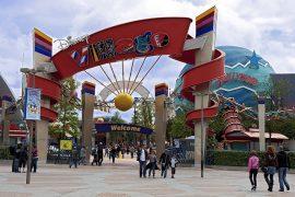 香港ディズニーランドのディズニーヴィレッジ