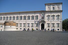 Palazzo del Quirinale in Rome