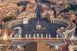 Piazza-San-Pietro in Rome