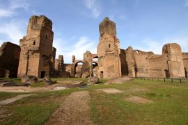 Terme di Caracalla in Rome