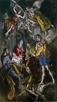 エル・グレコの「羊飼いの礼拝」