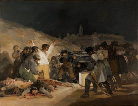 ゴヤの「マドリード、1808年5月3日」