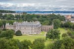 around the palace of holyroodhouse