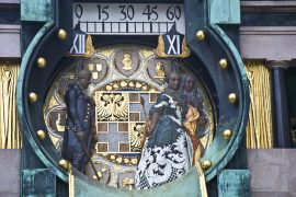 Hoher Markt Clock