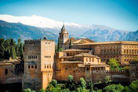 アルハンブラ宮殿を望む絶景スポット