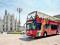 眺めの良いダブルデッカーバスはミラノの美しい街並みの散策にぴったり
