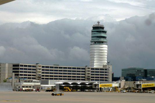 ウィーン空港の外観
