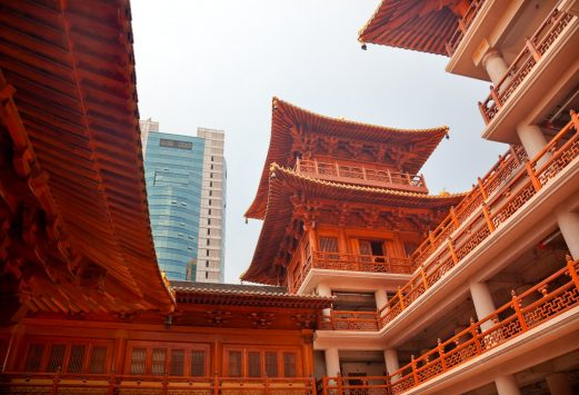 Jing An Tranquility Temple