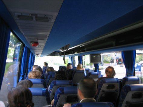 アムステルダムのシャトルバス