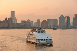 Boat in Huangpu River