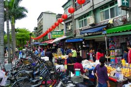 Shuanglian Morning Market