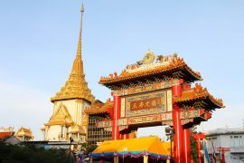 gate to chinatown in Yaowarat