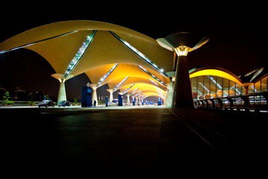クアラルンプール国際空港の外観