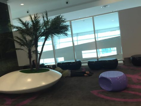 クアラルンプール国際空港のラウンジ