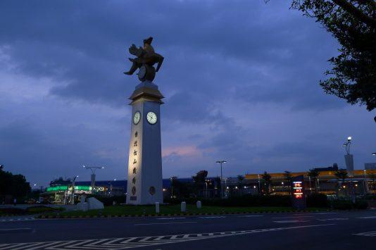 台北松山空港の外観