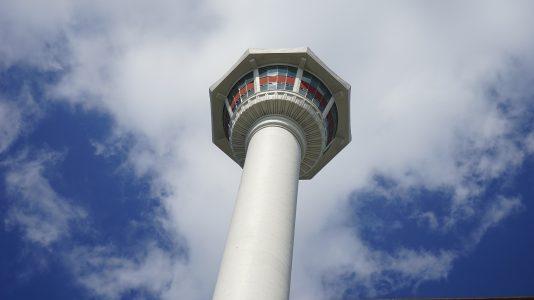 釜山のランドマークである釜山タワー