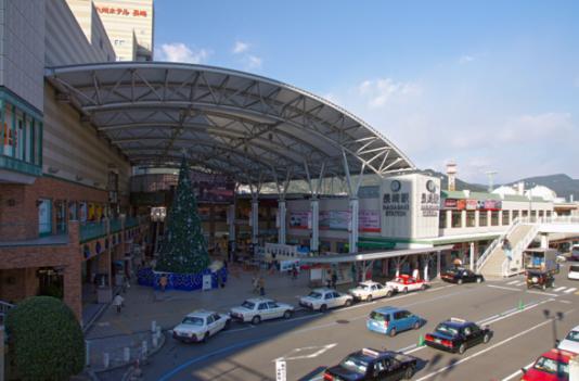 旅の中心となる長崎駅