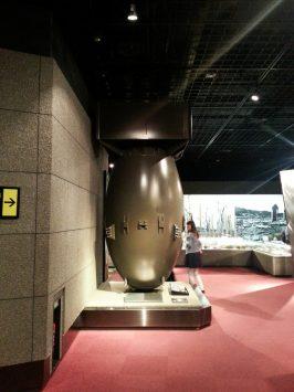 長崎原爆資料館で原爆の歴史を知る