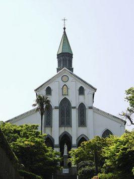 日本最初期の洋風建築、大浦天主堂
