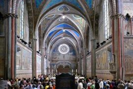 アッシジ、フランチェスコ聖堂と関連修道施設群