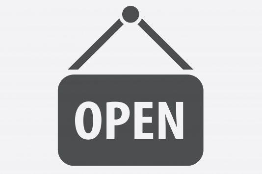 「オープン」のアイコン