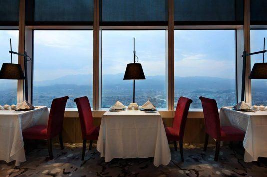 欣葉101食藝軒からの眺めは最高