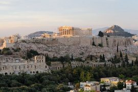 Famous food in Athens
