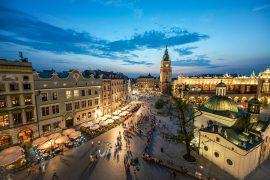 sightseeing in Krakow