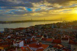 リスボンの街並み