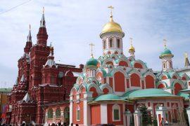 モスクワ赤の広場