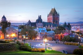 sightseeing in quebec
