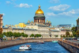 sightseeing in Saint Petersburg