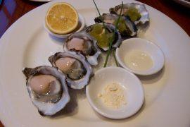 パースで人気の牡蠣