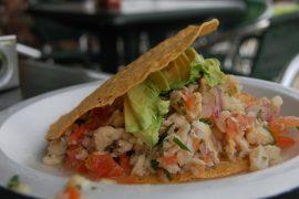 セビチェは中南米の料理で、ペルーやメキシコで有名な料理