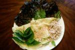 バンチャエウはカンボジア風お好み焼き