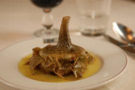 ローマのレストランFelice a Testaccio