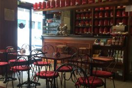 ローマのレストランfiordite