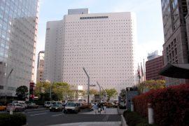 ワシントンホテル新宿の外観