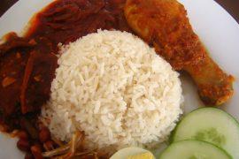 コタキナバルの名物料理