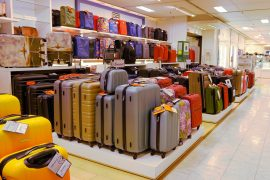 スーツケース売り場