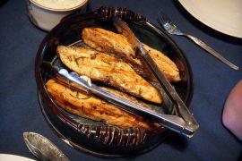 サーモングリルは、バンクーバーの代表的料理の一つ