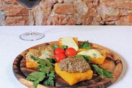 フィレンツェTrattoria Vecchio Mercatoの料理