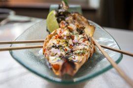 ロンドンのアジア料理店ニルヴァーナ キッチンの料理