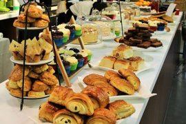 オックスフォードの1738 tea room cafe