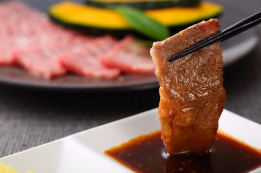 新宿の焼き肉店